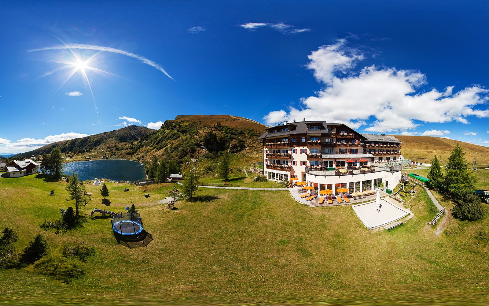 L hotel per bambini sul falkert nel cuore dei monti nock for Suite prefabbricata