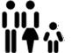 Belegung: 2 Erwachsene - 1 Kind